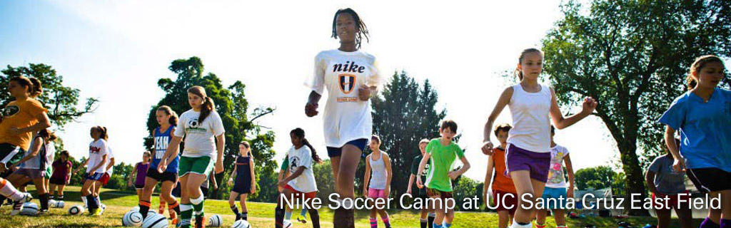 Nike soccer camp hosted by UCSC Conference Services