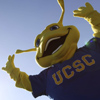 The UC Santa Cruz Mascot, Sammy the Slug